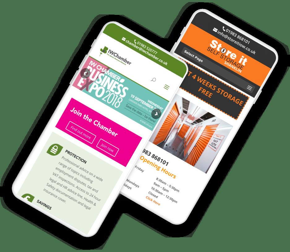 iow responsive web design